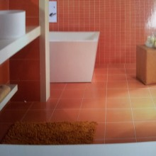 carrelage reva  orange  31.6x31.6 cm