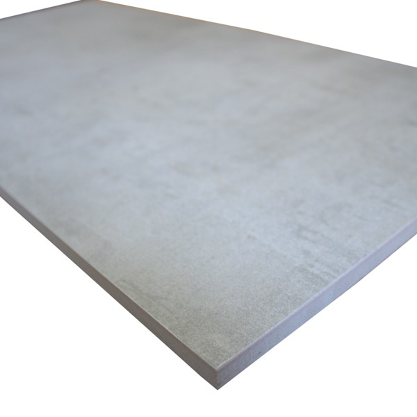 Carrelage b ton cir gris 30x60 carrelages for Recouvrir carrelage beton cire