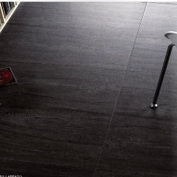 Carrelage avangarde lappato noir 60x60 carrelages for Carrelage noir brillant