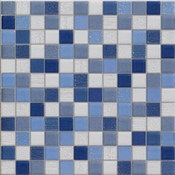 carrelage mosaique bleu 20x20cm carrelages. Black Bedroom Furniture Sets. Home Design Ideas
