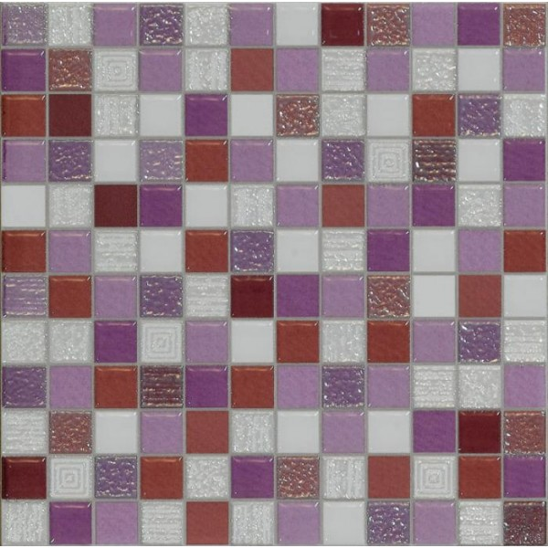 Carrelage Mosaique Violet 20x20cm Carrelages